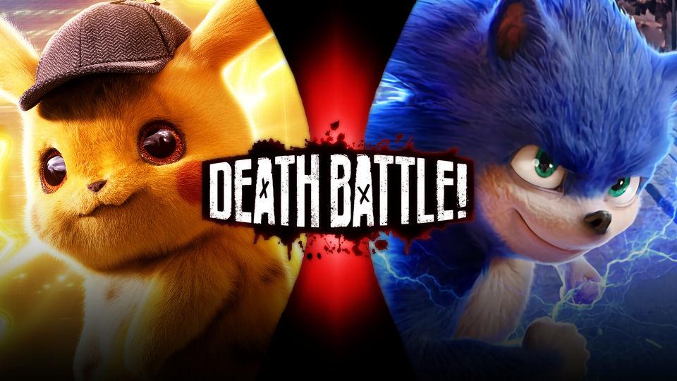 Detective Pikachu Vs Sonic The Hedgehog By Avoidthisaccount On Deviantart