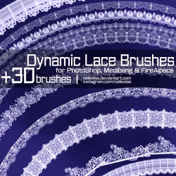 Dynamic Lace Brushes by Celexiaa by Celexiaa