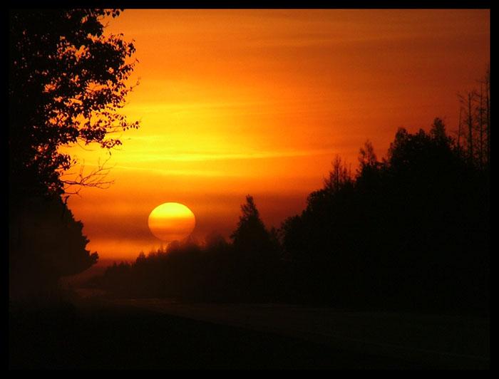Seney Sunrise by kessalia