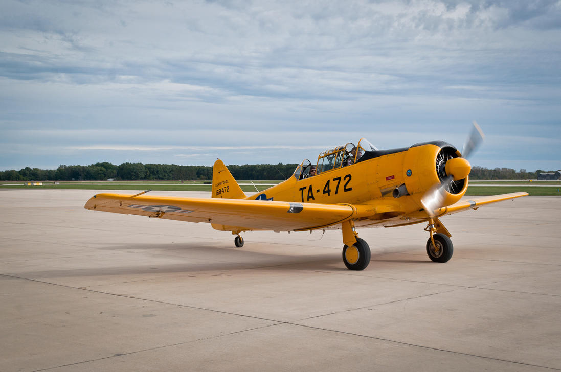 Warbirds 2015 - T6 Texan 2 by Stig2112