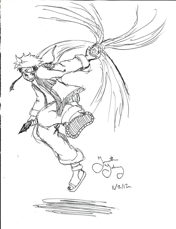 Naruto Rasengan by neodragon115