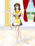 Royal handmaid by Cumulusnubes