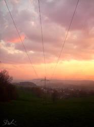 Lugau Sunset by Siril