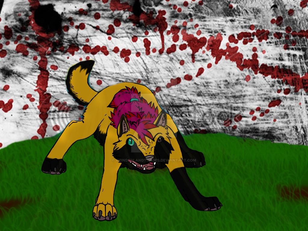 Get out Alive - Ryuken (Old Digital Artworks) by WonderlandTrades