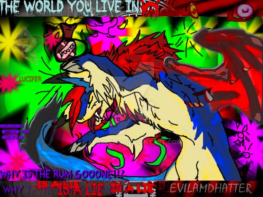 Its All Done  Pshycadelicxz   Copy Imustbdrunkk  B by WonderlandTrades