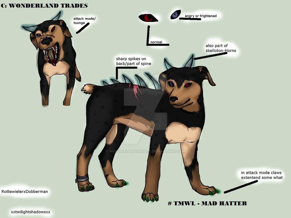 Hellhound - Contest - Old Artwork by WonderlandTrades