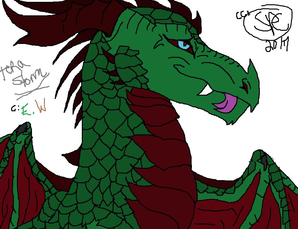 Newbie Green Dragon / Quickie Boredem by WonderlandTrades