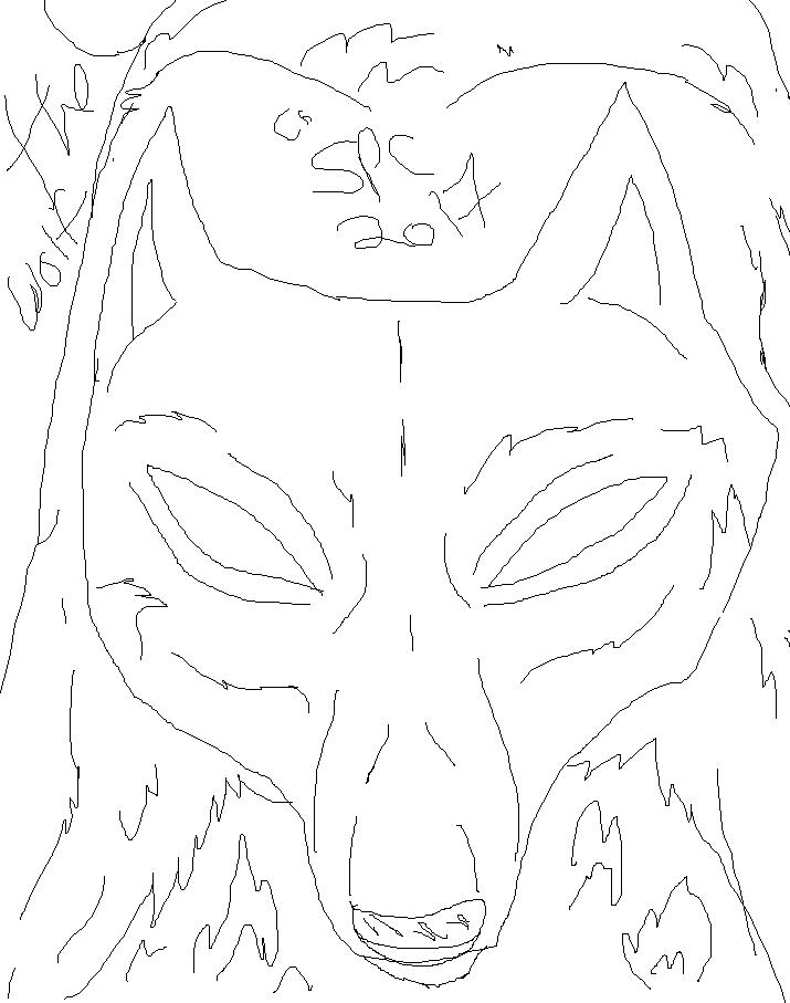 The Wolf , Is Inside. (Paint LA Doodler / READ!) by WonderlandTrades