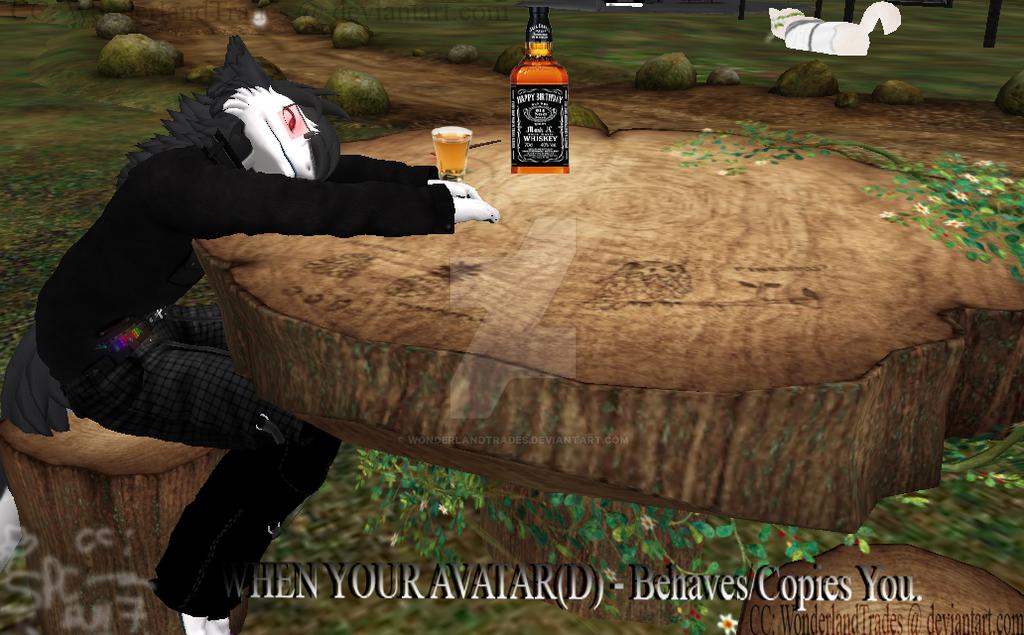 DrunkAvatard by WonderlandTrades
