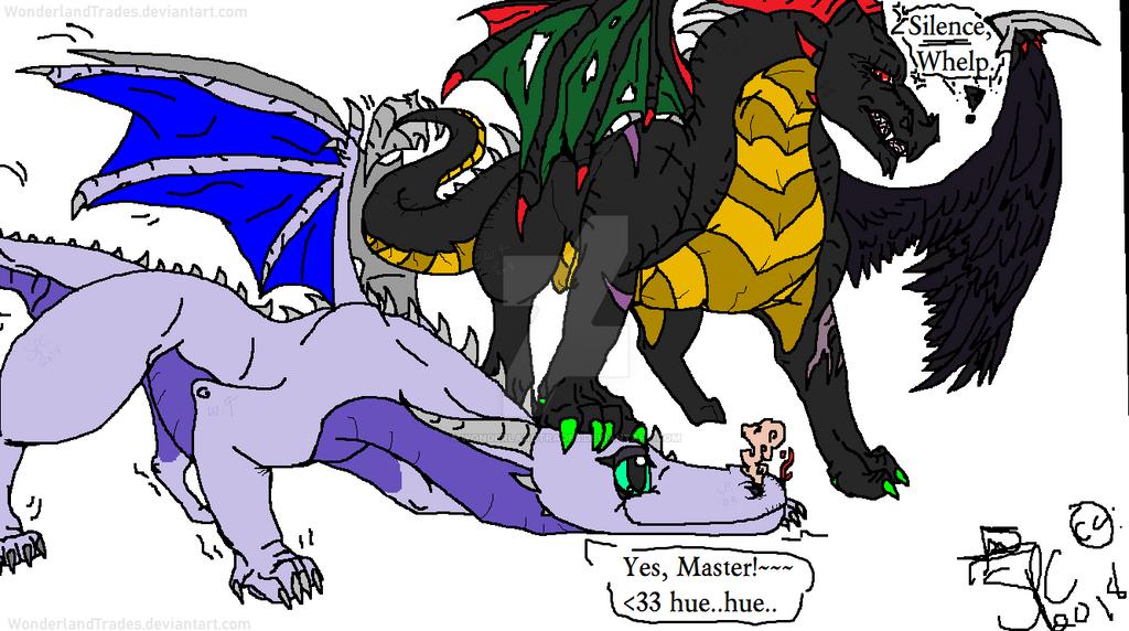 Lemme Smash??? - O.C Dragons MS: Paint - Doodler by WonderlandTrades