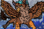 AKION S. (My friend - A.T over discord) - Gryphon