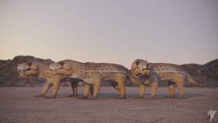 Permian hellhounds
