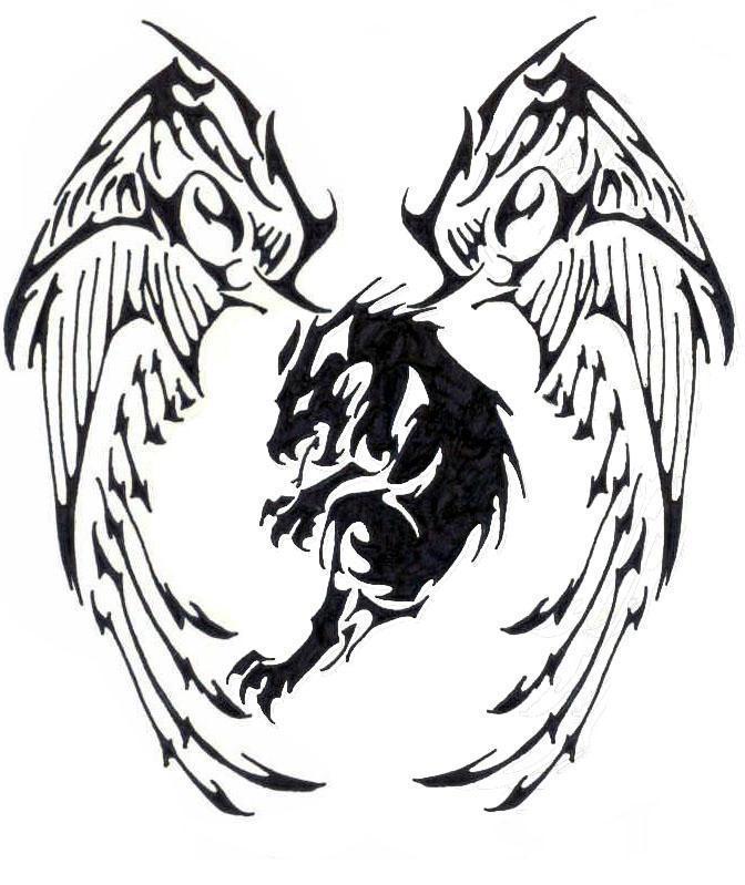 Tribal Tiger By Ruttan On Deviantart: Angelic Tiger Tribal Tatoo By Naruto5289 On DeviantArt