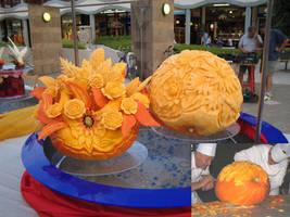 Pumpkin art by devinandi