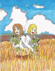 APH: In fields -coloured- by Vanyahani