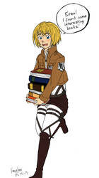 SNK Armin by Vanyahani