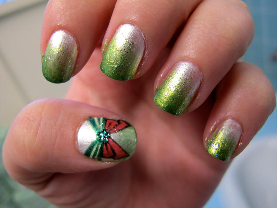 Sailor Jupiter Nail Art by WimskryBee