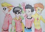 The Boys of Teen Titans