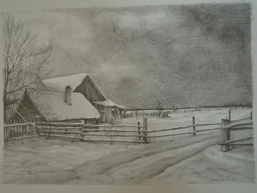 Winter by Yakhovskaya