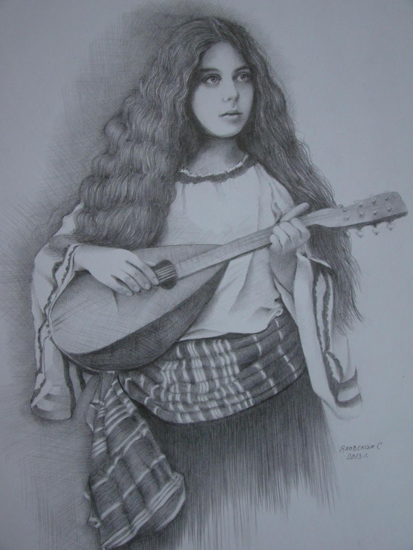 A girl by Yakhovskaya
