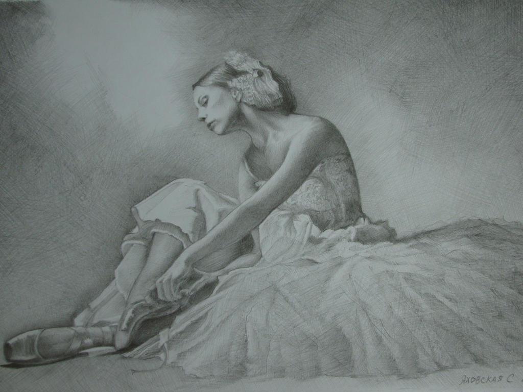 Ballerina by Yakhovskaya