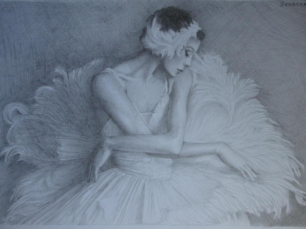 Balerina by Yakhovskaya