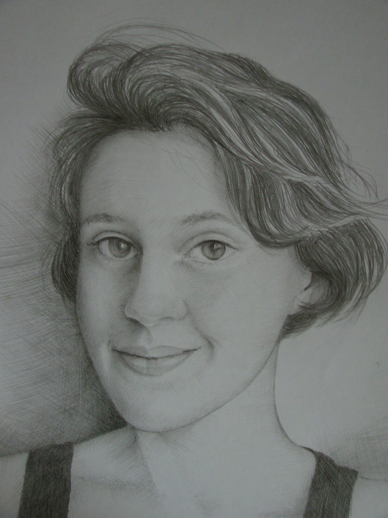 Portrait by Yakhovskaya