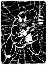 Venom by AdamTomkinsArt