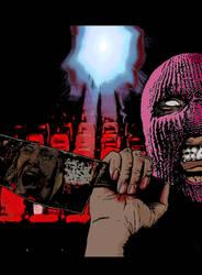 Slasher film poster commission by AdamTomkinsArt