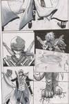 Dragon Attack Short Comic P1/8 by G4B2TER