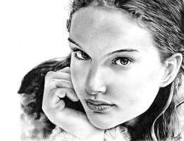 Natalie Portman by jyongyi