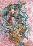 Vocaloid- Oriental Sync