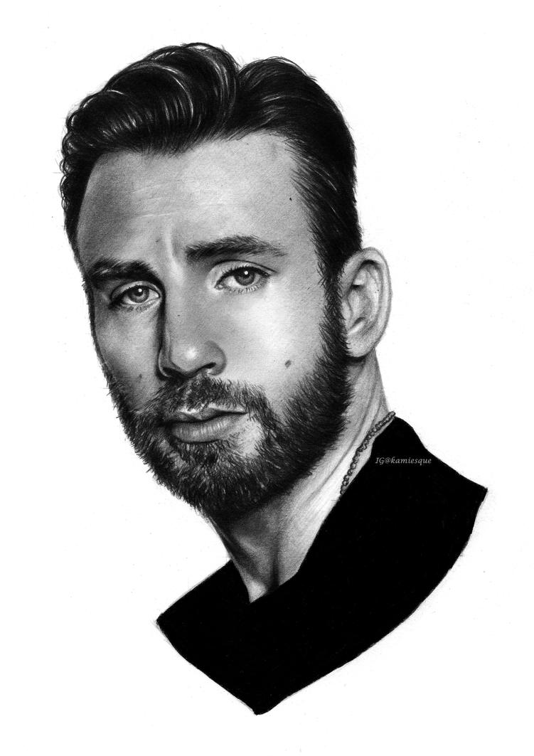 Chris Evans by aiholic