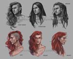 Maedhros head designs