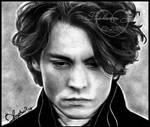 Johnny Depp a la Ichabod Crane by baremywords