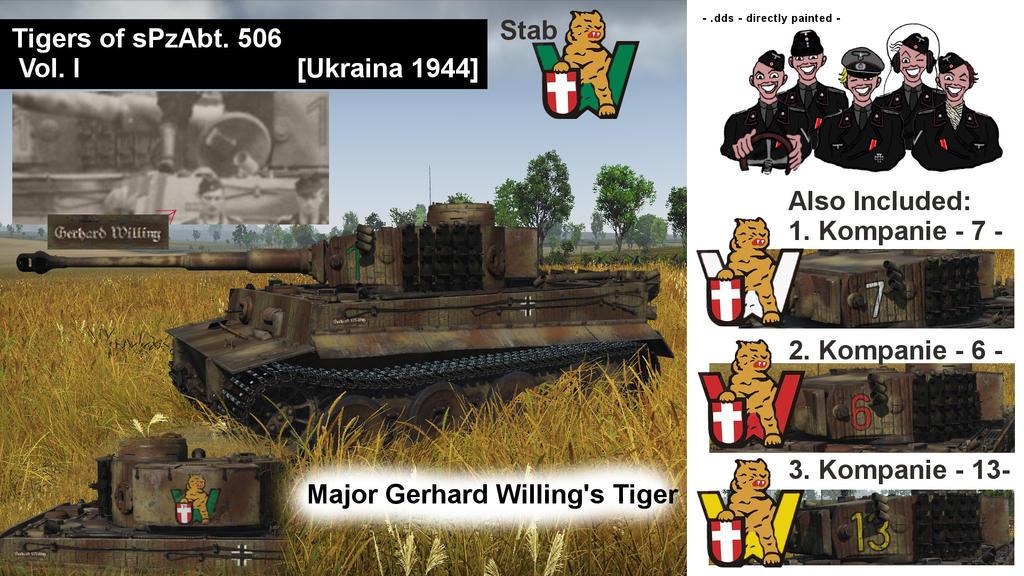 war thunder tiger skins