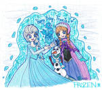 :Gift: FROZEN: Family Warms You Up When It's Cold