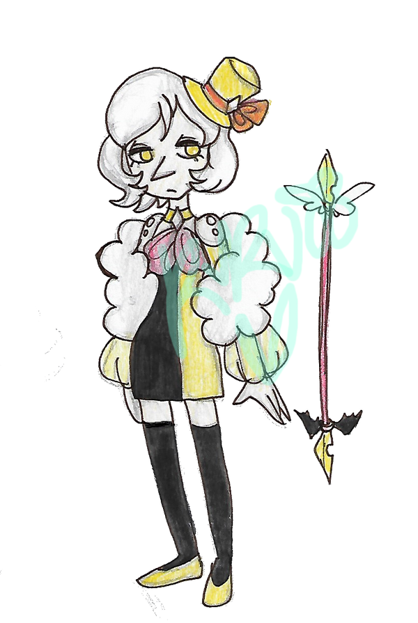 :CE: Now an Adopt!: Banana Cream Pearl [CLOSED] by kuku88