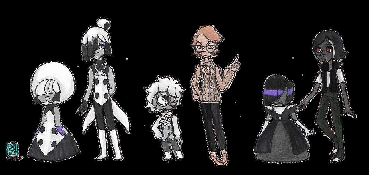 Steven Universe: Gem Labs: Meet Your Benefactors by kuku88