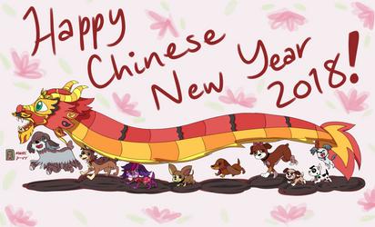 Happy Chinese New Year 2018! by kuku88