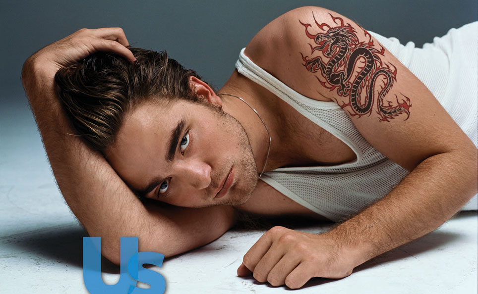 tattoos Robert Pattinson