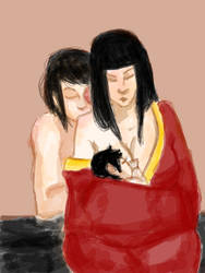 Maiko- Breastfeeding