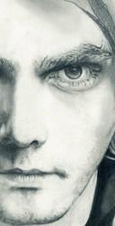 Gerard Way WIP 2 by KatyChemical