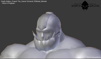 Death Walker (The Game) - Grimlock 3DModel