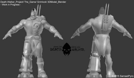 Death Walker (The Game) - Grimlock 3DModel ++