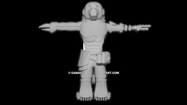 Amanidae 3D Model V1.2 Render2