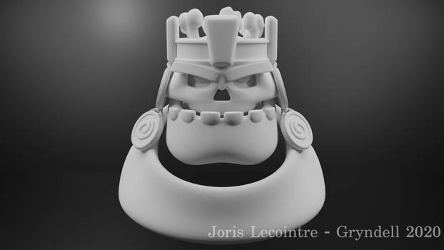 Skull King Render (WIP)