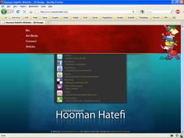 Hooman Hatefi's website by DaRiOuShJh