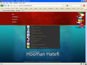 Hooman Hatefi's website