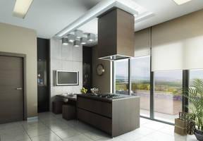 kitchen 3D by Ertugy